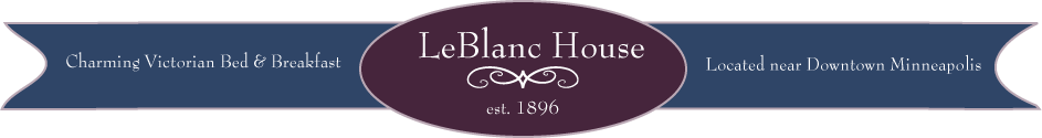 LeBlanc House - Minneapolis Bed and Breakfast
